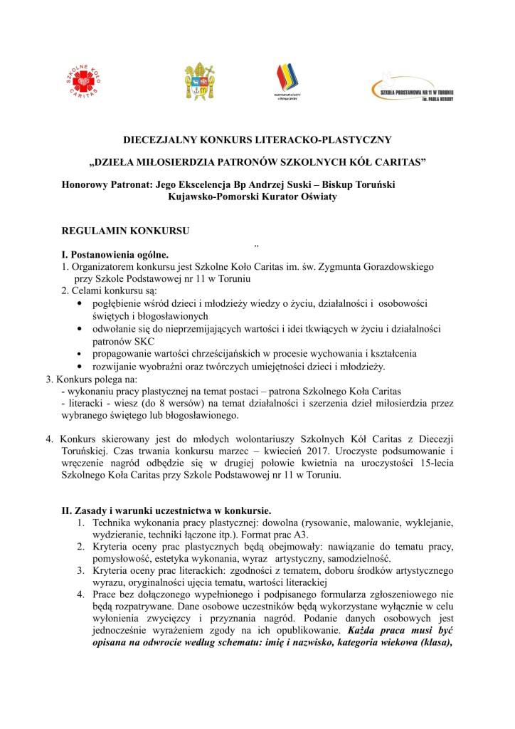 Konkurs regulamin-1